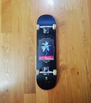 Tabla Skate Completa Globe G1 Palm Off Black 8.0