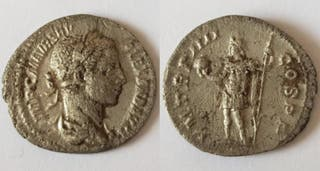 Moneda romana plata