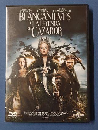 DVD - Blancanieves y la leyenda del cazador
