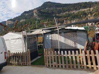 vendo carabana camping puigsagordi
