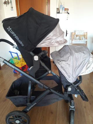 Cochecito UPPABABY doble ideal hermanos!!!