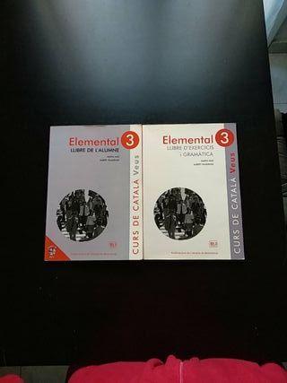 libros curs de català elemental 3
