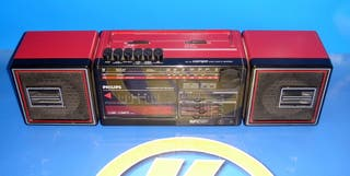 RADIOCASETTE Radio Cassette PHILIPS CUBIC COMPO