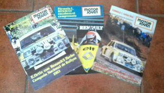 3 revistas año 83 renault coleccion