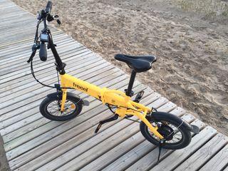 Bicicleta eléctrica plegable freel