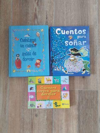 Pack 3 Libros de Cuentos Infantiles