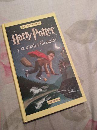 Libro Harry Potter y la piedra filosofal