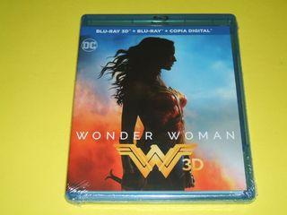 WONDER WOMAN (BLURAY 3D + 2D)-PRECINTADO-