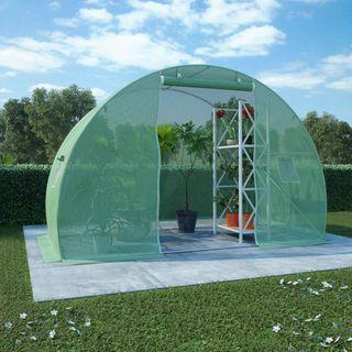 Invernadero con Cimientos de Acero 4,5M² 300X150X2