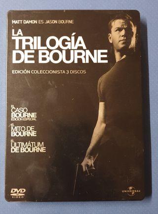 DVD - Trilogía de Bourne