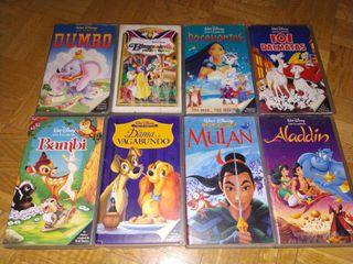 Películas VHS. Titanic, Bambi, Dumbo, Jumanji,etc.