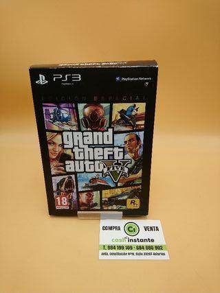 GTA 5 EDICIÓN ESPECIAL PS3