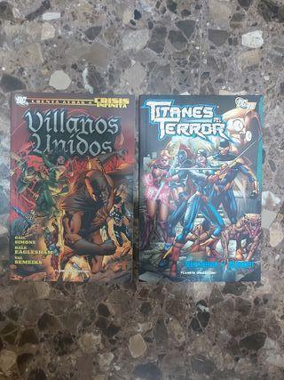lote 2 comics