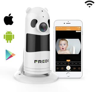 Camara IP Vigilancia Wifi Panoramica Android iOS