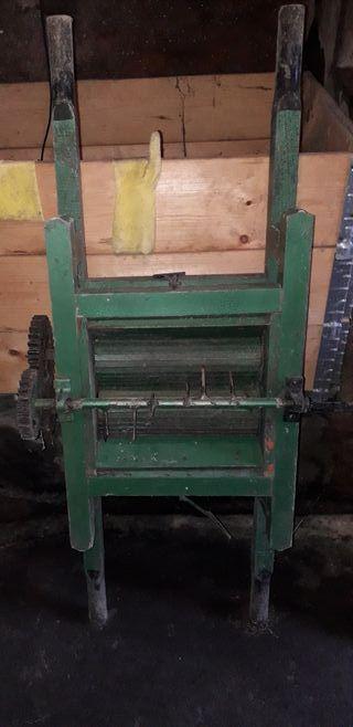 rodillo prensa para hacer sidra