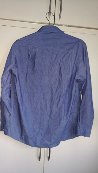 Bershka Blue Shirt