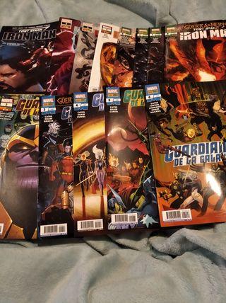 Cómics Marvel Iron man y guardianes de la galaxia