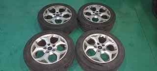 "llantas aluminio 16"" ford"