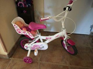 """bicicleta blanca y toda 12"""""""
