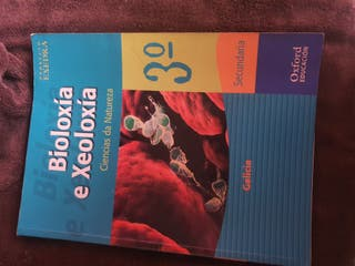 Libro Bioloxía e Xeoloxía.