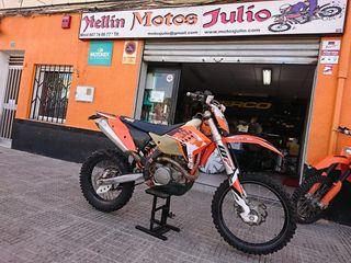se vende ktm 400 cc exc año 2010