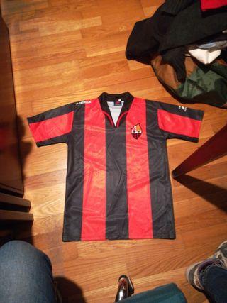 camiseta reus deportiu hoquei firmada 2008
