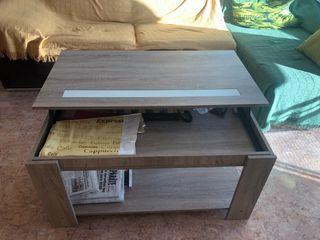 Conjunto mesa y mueble comedor seminuevo