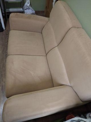 sofá de 2 plazas Ikea camel