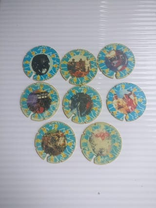 Tazos Power Rangers La Película(Matutano Colección
