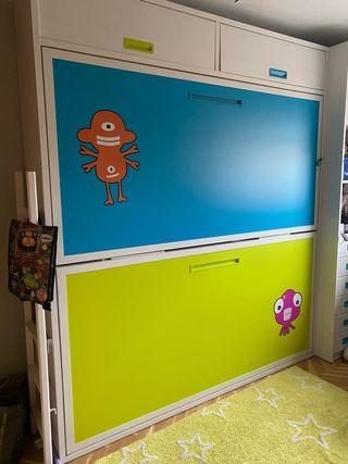 Litera dormitorio juvenil infantil