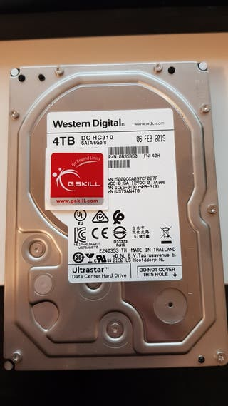 western digital dc hc 310. disco duro