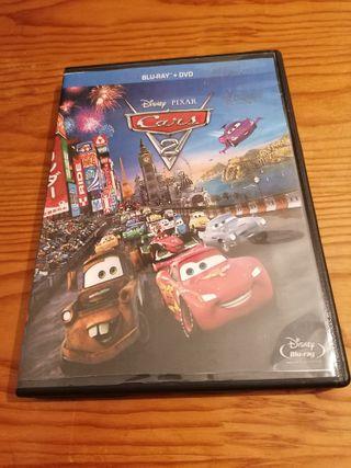 Película DVD: Cars 2 - Disney (solo dvd)