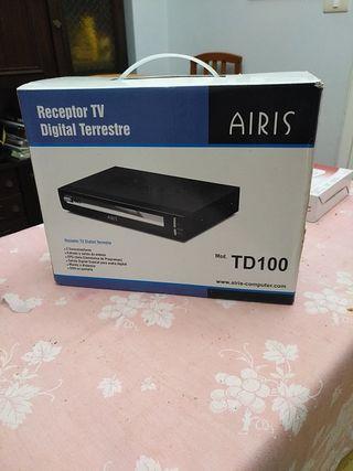 Receptor de TV Digital Terrestre y Cámara Digital