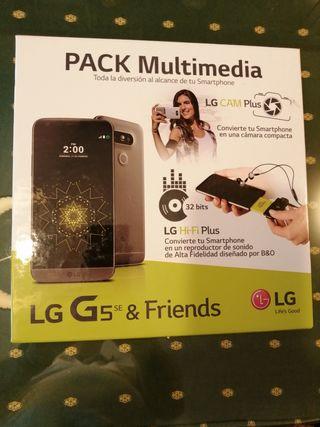 Móvil LG G5 con Pack Multimedia