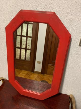 Espejo moderno, barato, y funcional!