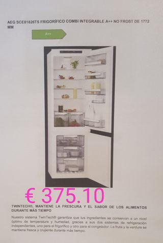 AEG frigorífico congelador integrado