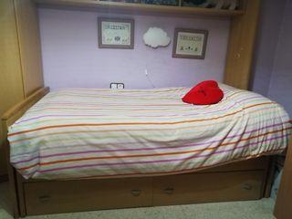 Dormitorio completo para estudiantes