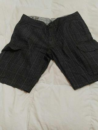 2 pantalones cortos hombre