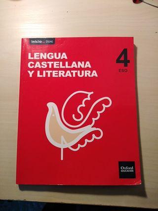 Libro Lengua Castellana y Literatura 4° ESO