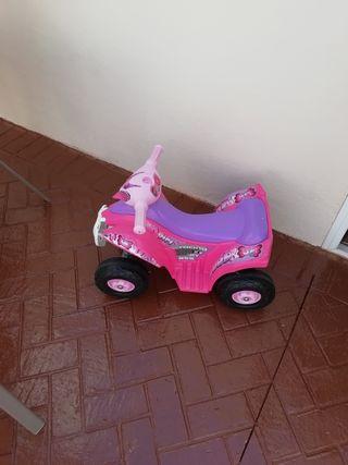 quad de batería de niña