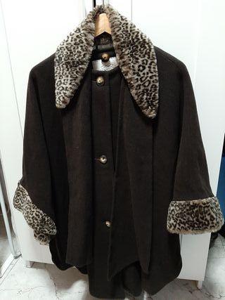capa señora leopardo