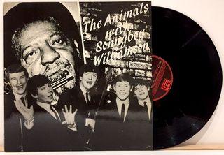 LP The Animals With Sonny Boy Williamson