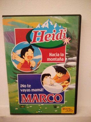 colección de DVD Heidi y Marco