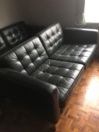 Sofa piel ikea