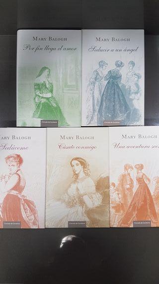 Colección Los Huxtable de Mary Balogh