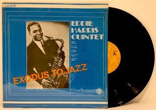 LP Eddie Harris - Exodus To Jazz