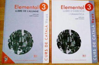 Libro de catalan Elemental 3