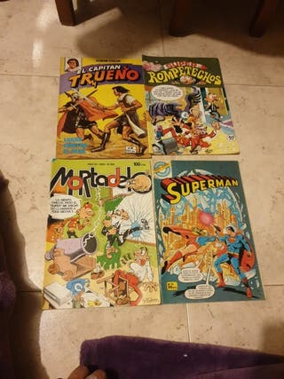 cómics antiguos varios