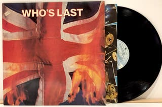 LP The Who - Who's Last