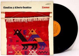 LP Claudina Y Alberto Gambino - Llamas